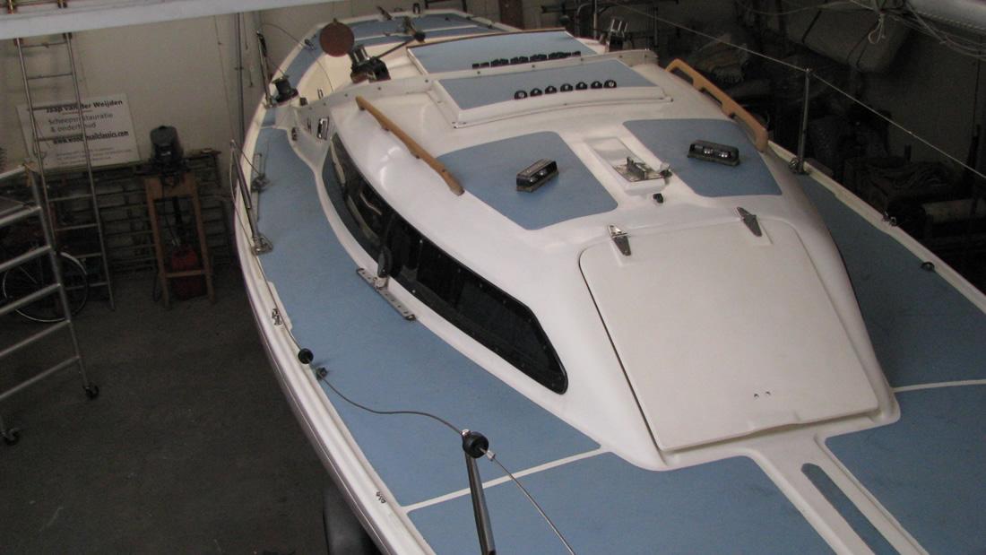 Wooden Sail Classics  HBoot met trailer # Wasbak Boot_112721