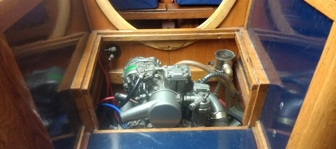 Skarpsno engine inboard